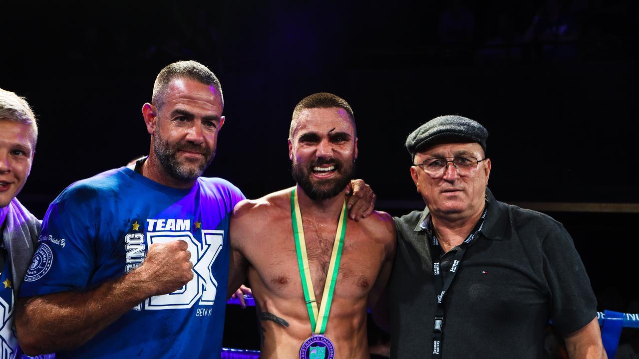 Ipswich boxer