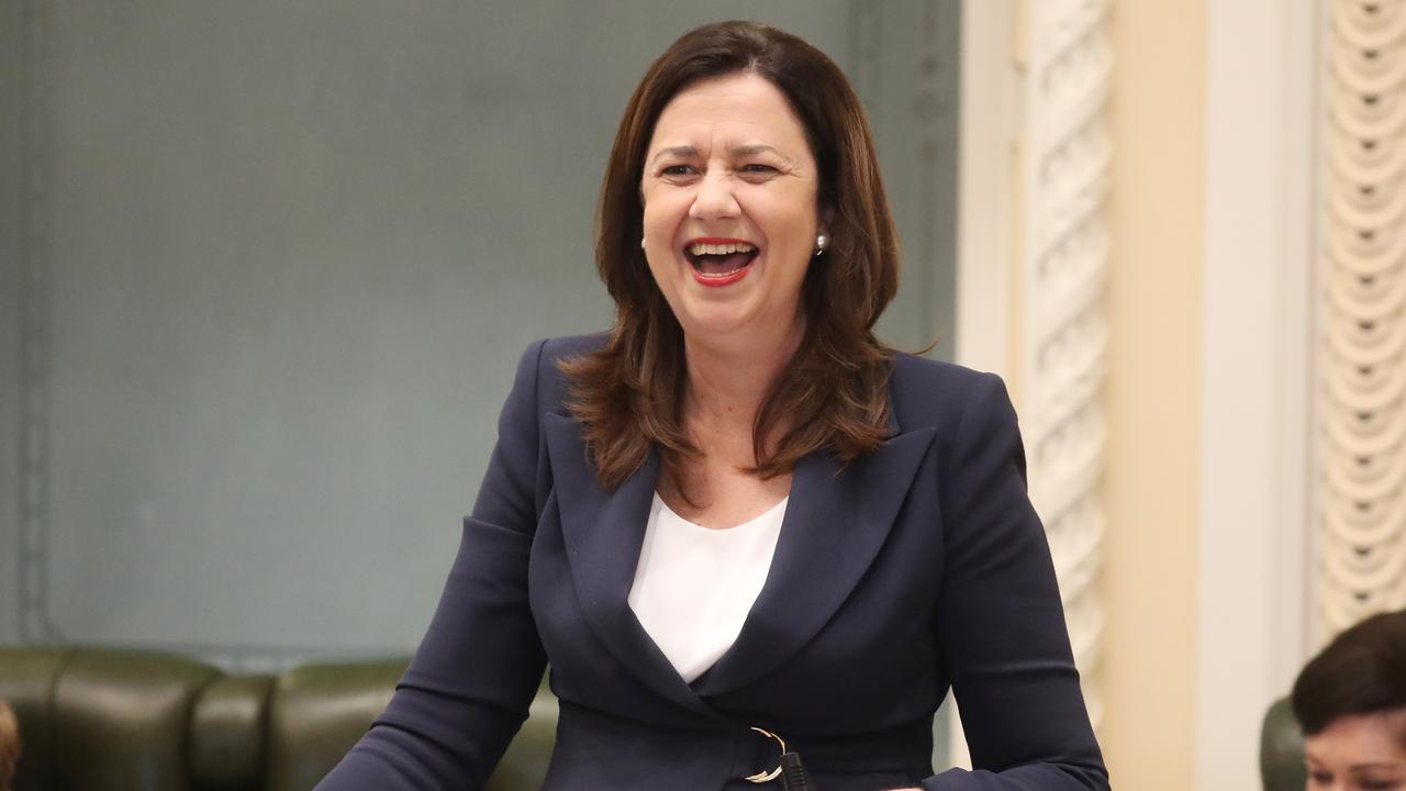Public servant numbers have increased by more than 15 per cent under Annastacia Palaszczuk's Labor government. Picture: Annette Dew
