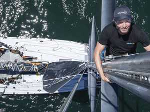 Aussie Sydney-Hobart supermaxi draws first blood