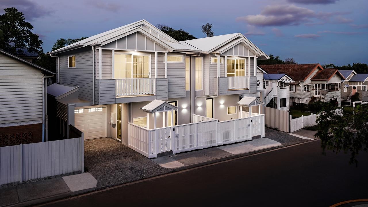 The Dudley residence at Camp Hill, a Toscano Constructions project. Picture: Supplied