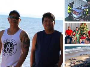 'Our heroes': Shattered wives' tribute after drownings