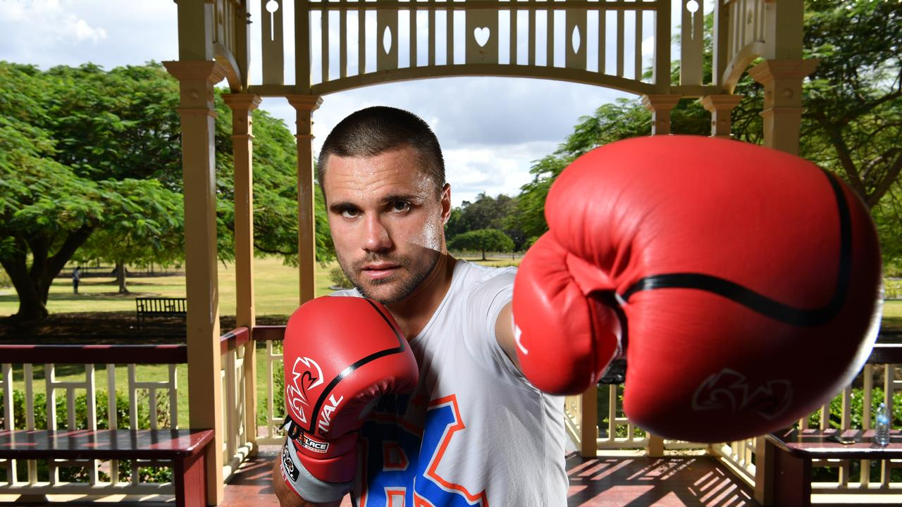Springfield boxer Ben Kite is chasing another major title fight in the new year. Picture: AAP Image/Darren England