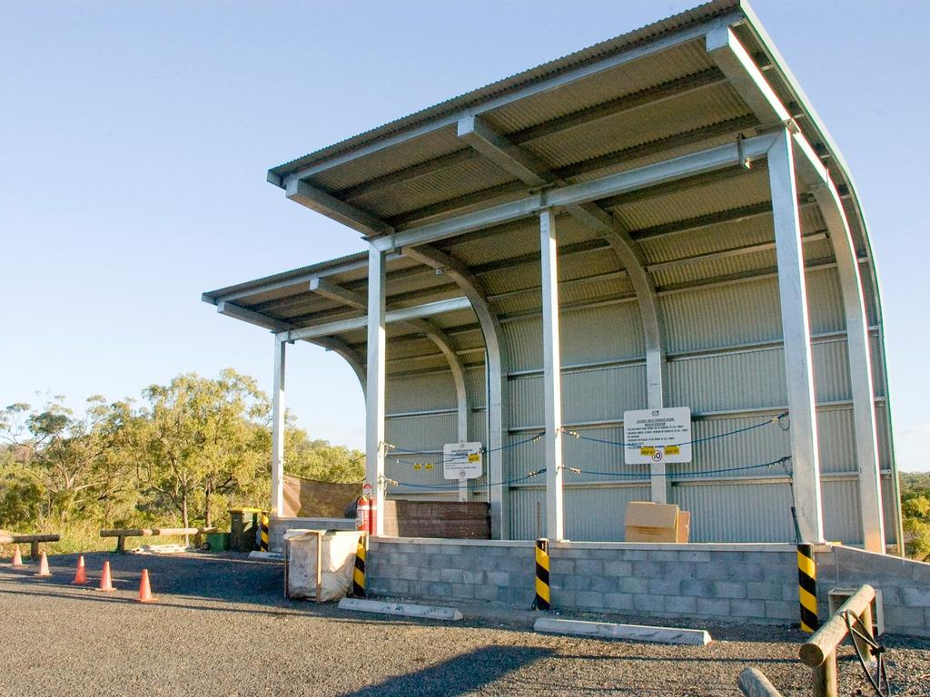 Hay Point Transfer Station. Picture: Mackay Regional Council
