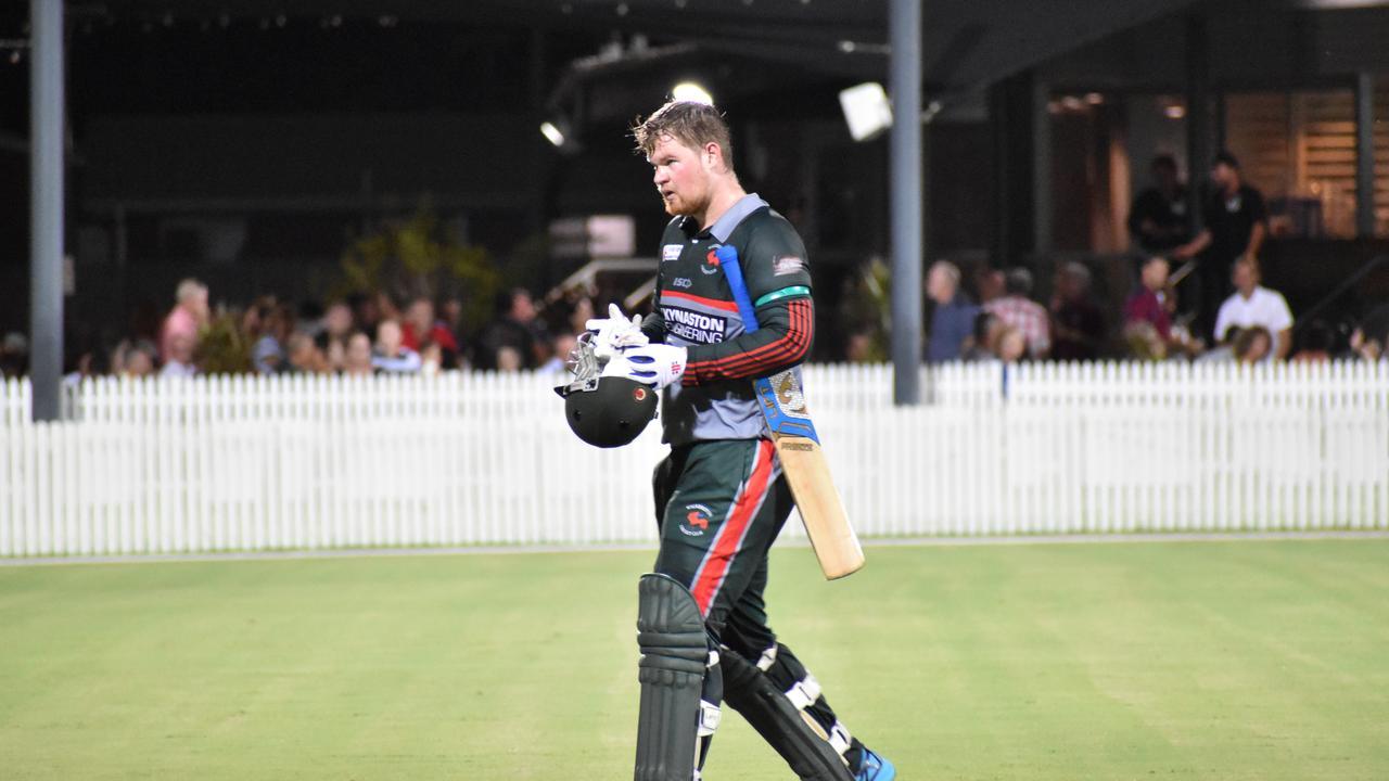 Walkerston batsman Jakob Frerichs.