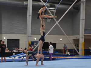 GALLERY: State's best gymnasts tumble onto the Coast