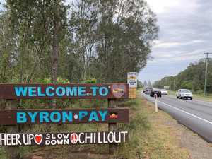 PAY BAY: Byron's welcome sign just got another facelift