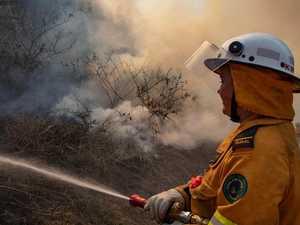 Bushfire threatens CQ military training area