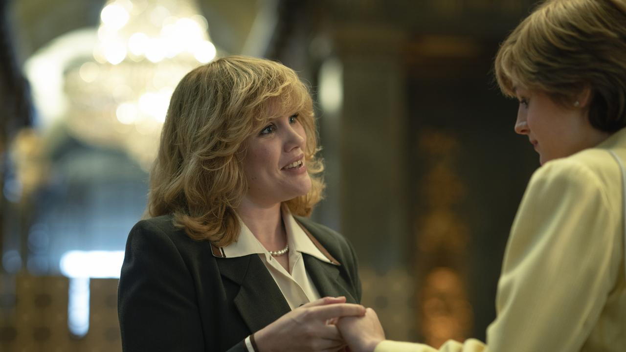 Camilla Parker Bowles is played by Emerald Fennell. Picture: Netflix