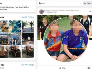 Private children's photos plastered on Facebook page
