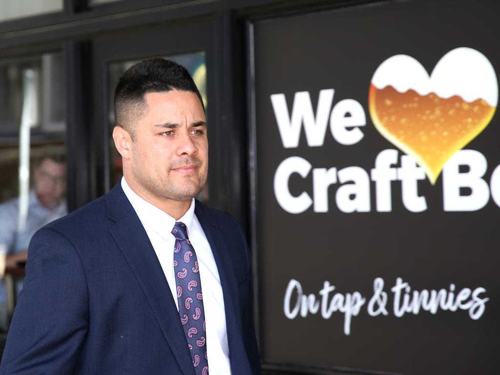 Jarryd Hayne said all sexual activity with the woman was consensual. Picture NCA NewsWire / Peter Lorimer