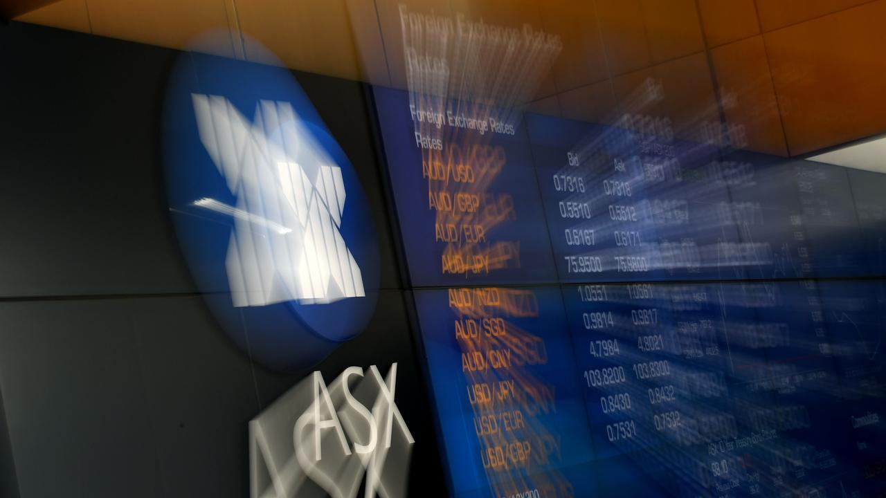 Shares listed on the ASX soared in value last month. Picture: NCA NewsWire/Joel Carrett