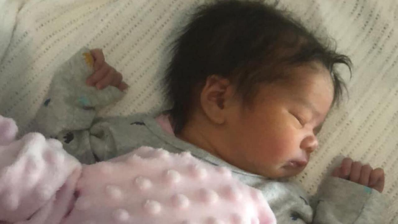 New parents Abbey Forrest and Indi Sohal were devoted to their baby daughter Ivy. Picture: Supplied
