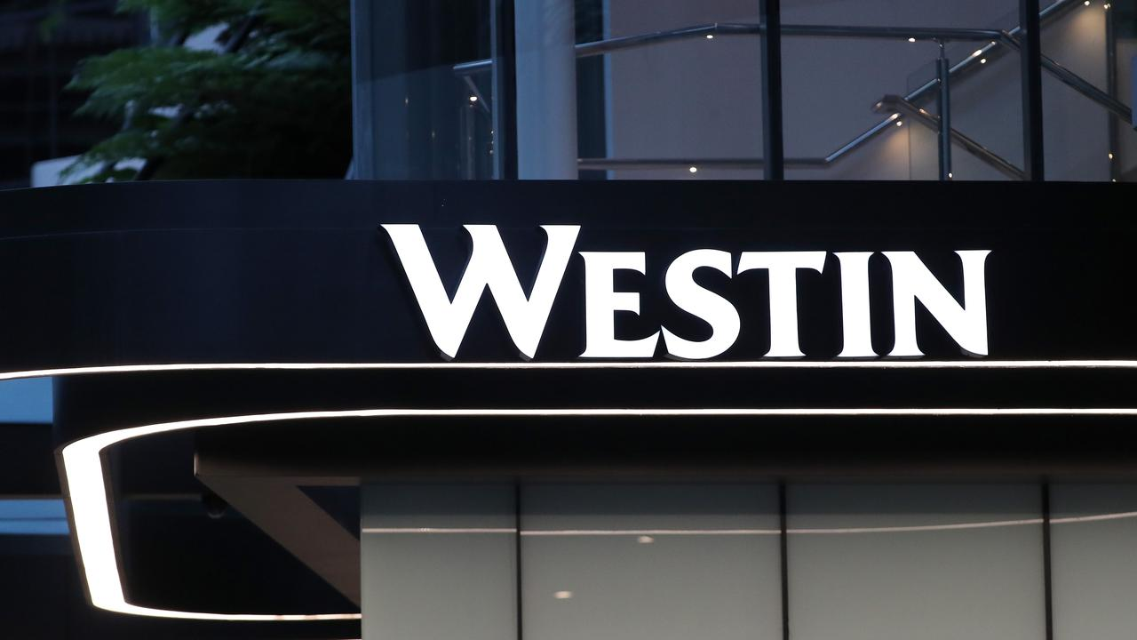 Queensland quarantine hotels, like the Westin, have been forced to suspend 'fresh air breaks' due to a new Queensland Health directive. Picture: Liam Kidston.