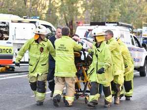 Coast pair drag crash victims from burning wreck