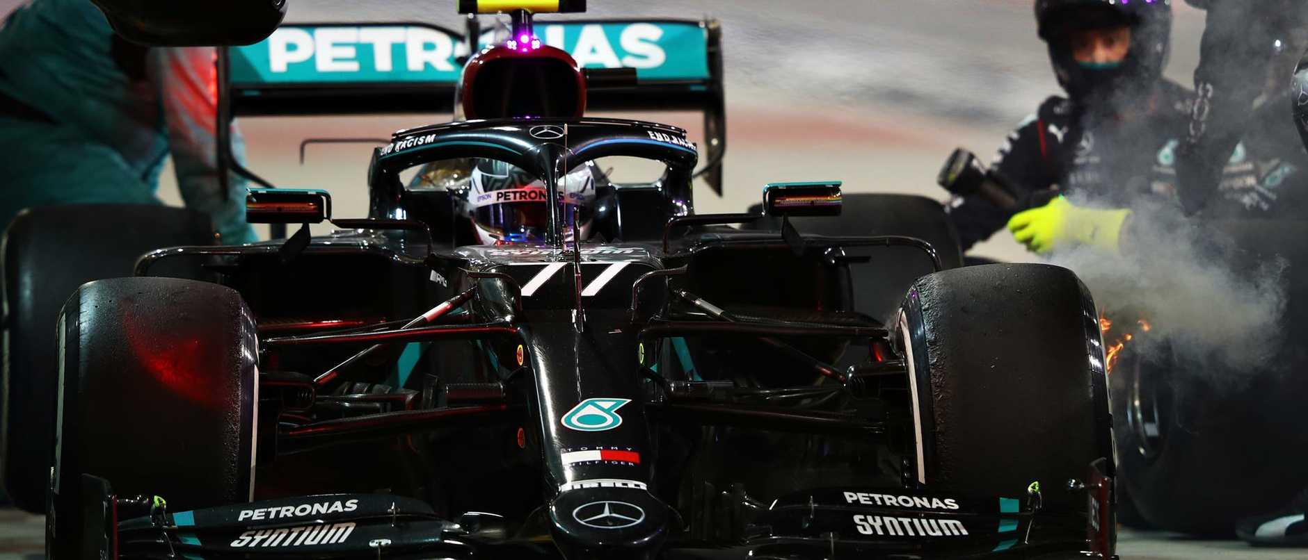 Horrific Mercedes mix-up causes heartbreak in dramatic Sakhir Grand Prix