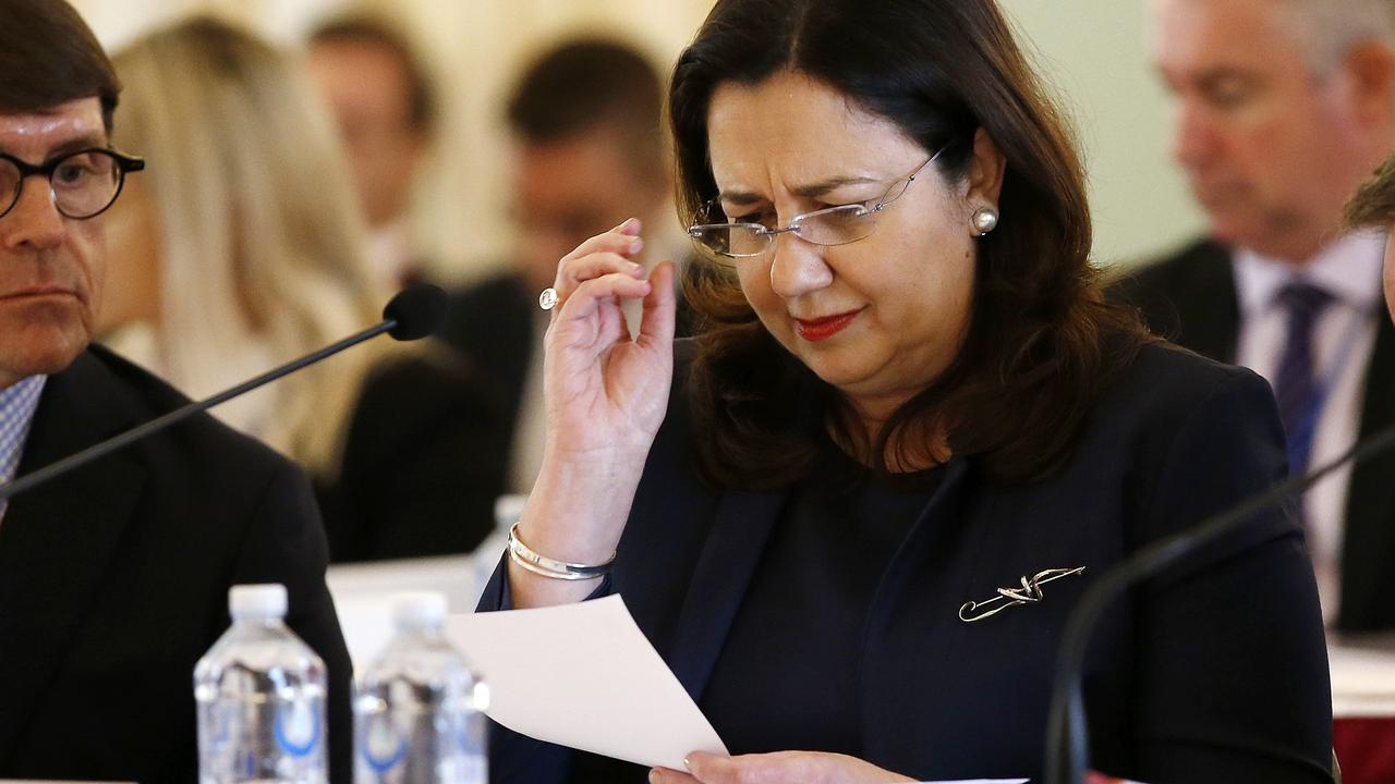 'Mangocube' affair back to haunt Palaszczuk as Parliament told of her own private account