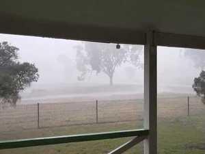 WATCH: Heavy rainfall hits Western Downs