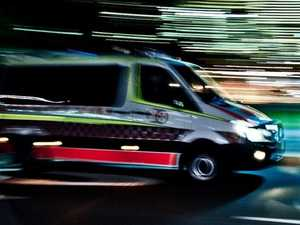 'Neck pain': Young man taken to hospital after crash