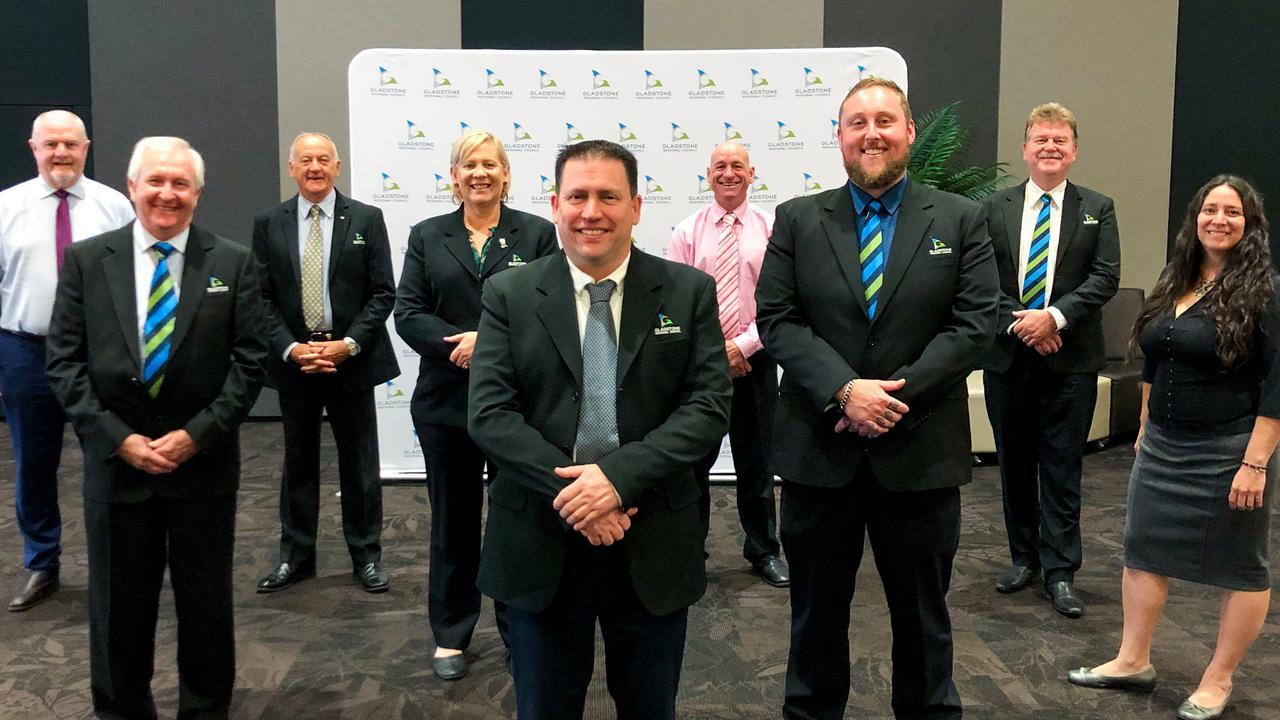 Gladstone Regional Council councillors.