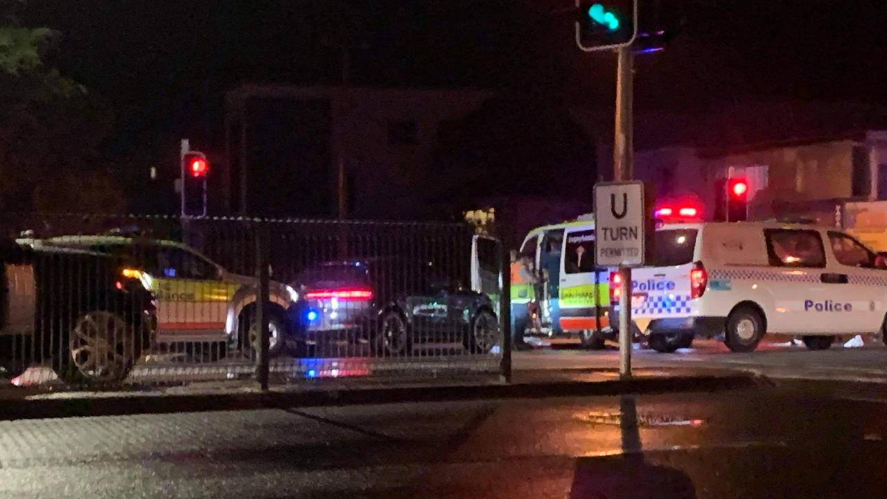 A pedestrian suffered critical injuries when they were hit by a car at Miami on Monday night. Picture: Rosie Ball