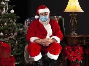 Mum shamed online for Santa slip up