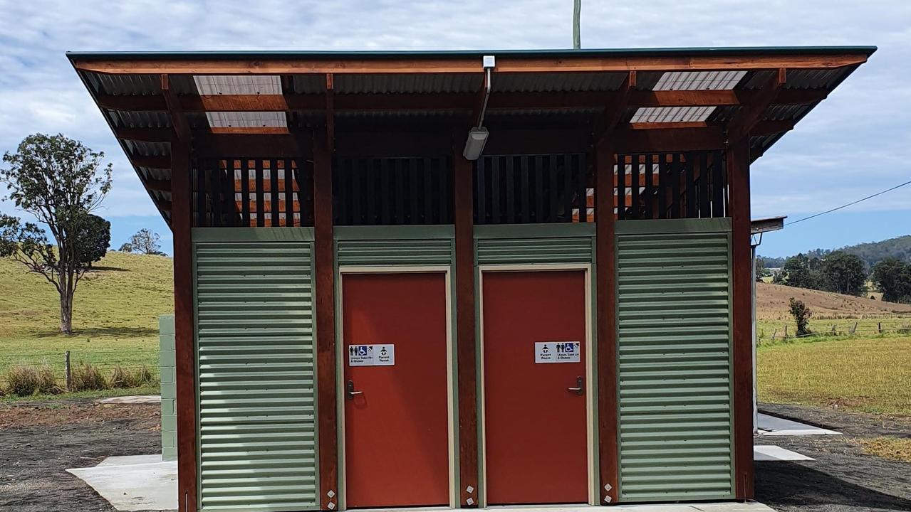 New amenities building at Mallanganee.
