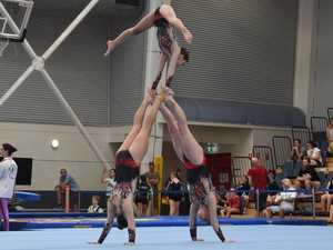 IN PHOTOS: State's best gymnasts tumble onto the Coast