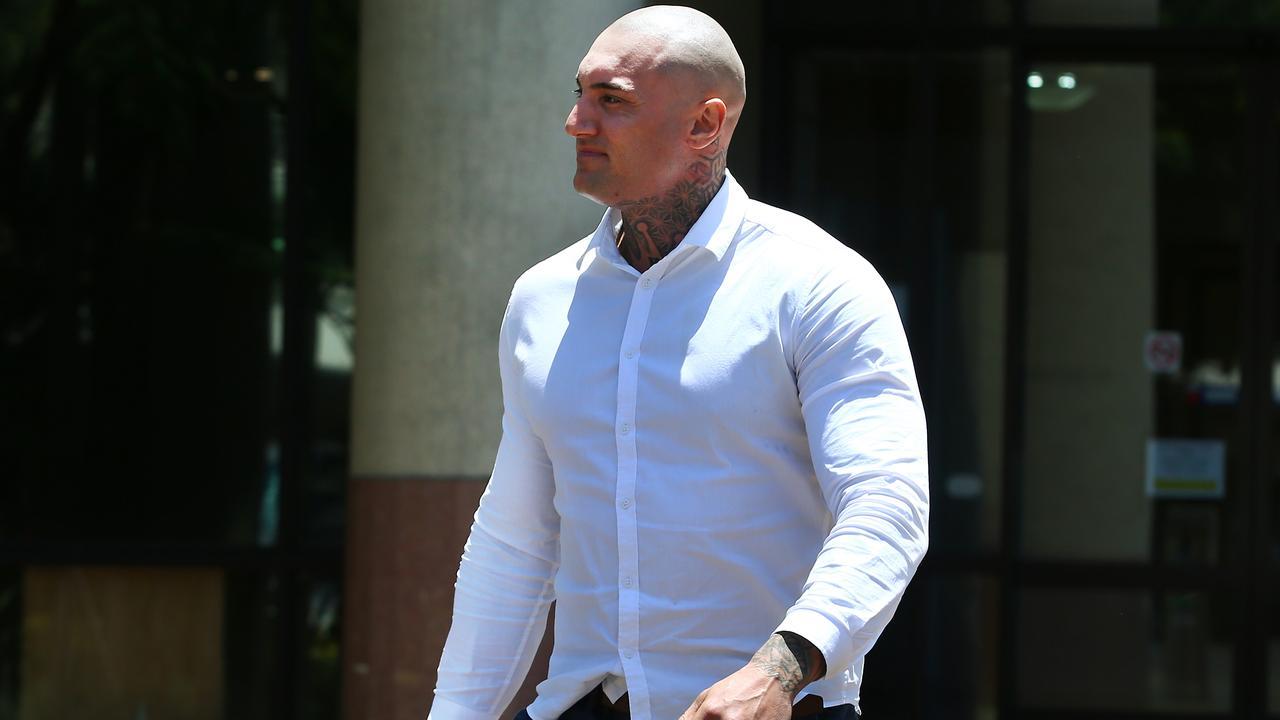 Matt Hilton outside Cairns Supreme Court.
