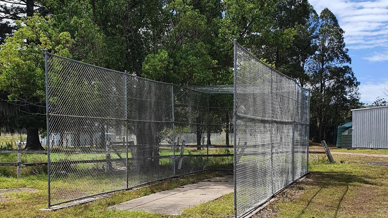 The cricket pitch at Mallanganee has been refurbished.