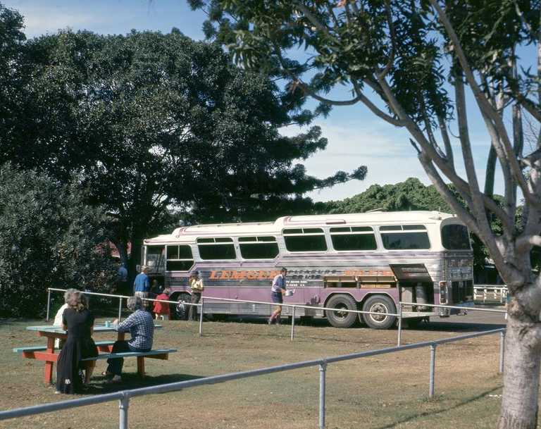 Bruce Highway, Gin Gin - Benaraby (1976). Photo: Queensland State Archives