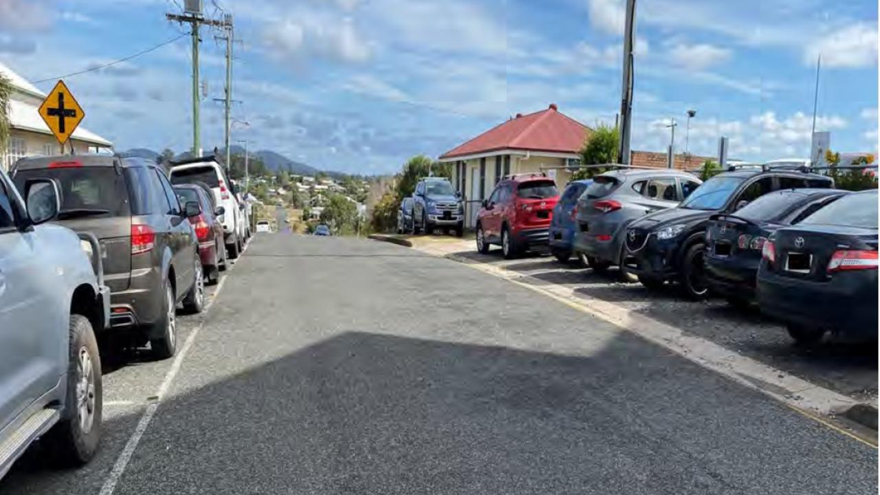 Parking at Gympie Hospital is already chaotic without the four-storey aged care centre.