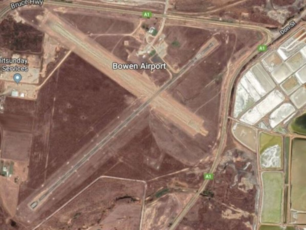Councillors will consider submitting an application for up to $300,000 for fencing and lighting improvements at Bowen Aerodrome at today's meeting. Photo: Whitsunday Regional Council