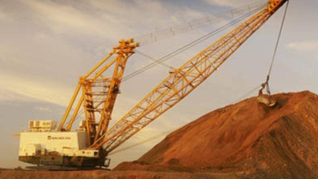 Newlands mine near Glenden, Bowen Basin, is owned by Glencore