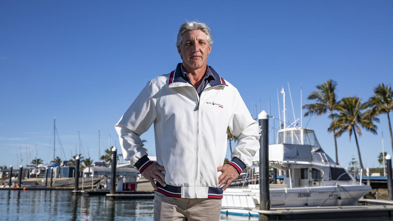 Former member Mike Freebairn questioned Royal Queensland Yacht Squadron's use of government COVID-19 relief funds in July. Photo: Mark Cranitch.