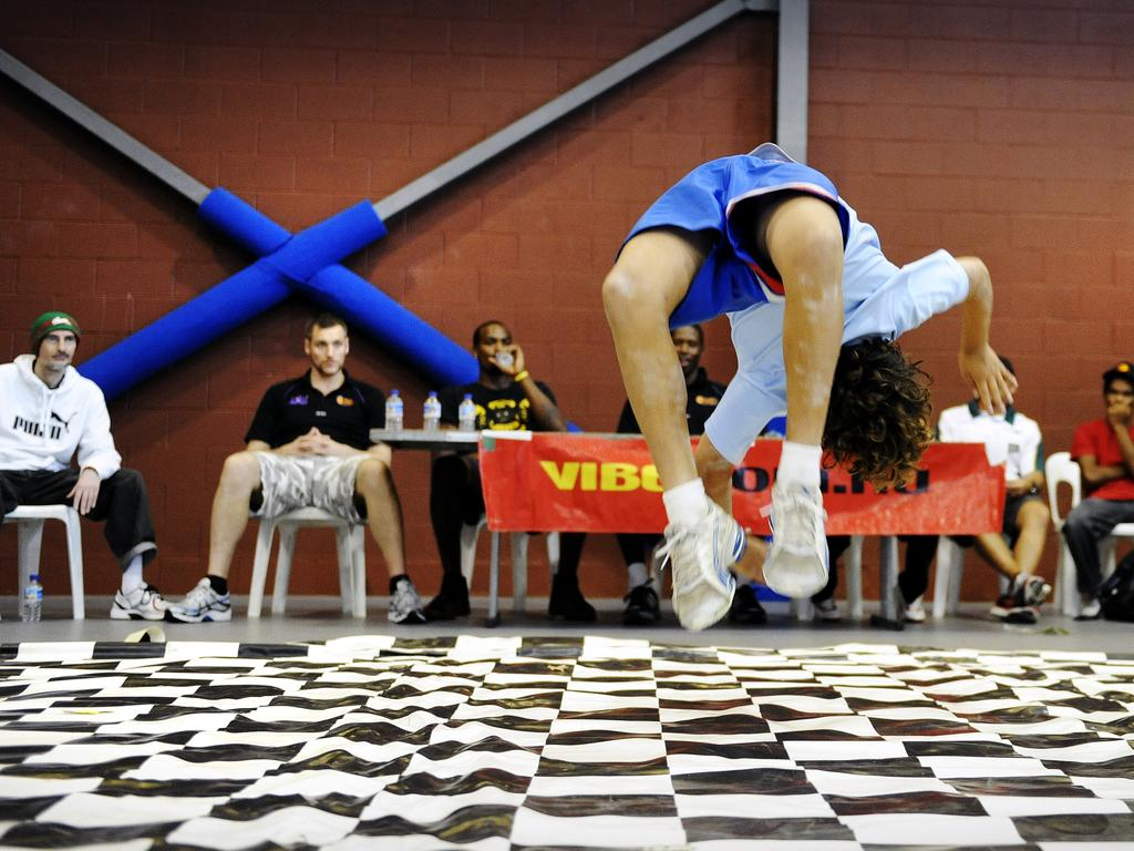 A breakdancing competition held in Sydney.