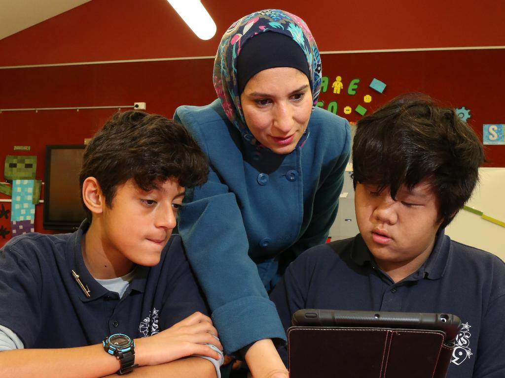 Australian students' results in science and maths have 'significantly improved'. Picture: Robert Pozo/AAP