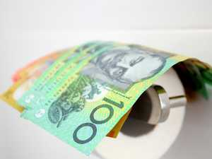 How Aussies are flushing cash down toilet