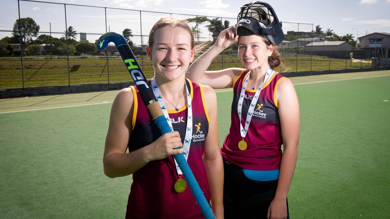 Mackay hockey players Claire Colwill and Jordan Bliss were named in the Queensland U18 Indoor Hockey squad after leading Mackay to the Division 2 title in Brisbane at the weekend. Keeley Walker (not pictured) was also named in the state squad.