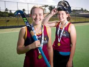 U18 girls go unbeaten at Qld Indoor Hockey championships