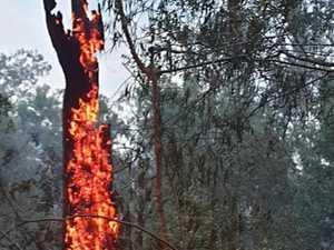 PHOTOS: Crews on front lines at Boyne Valley blaze