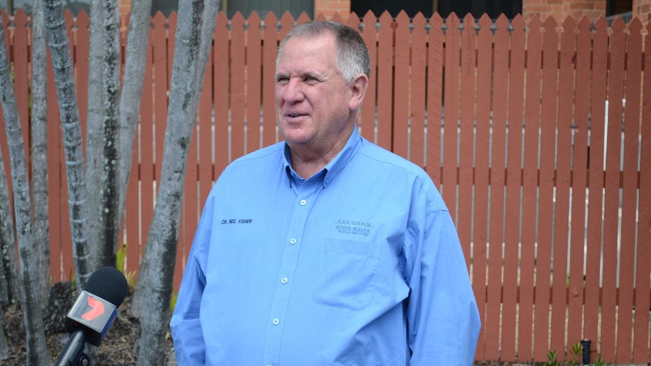 Acting Mayor Neil Fisher.