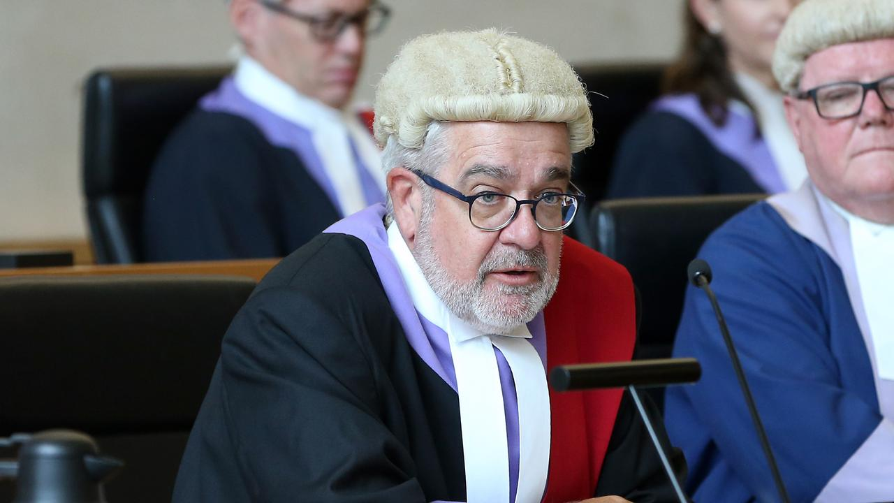 Judge Michael Byrne QC is presiding over the four-day trial. Picture: AAP Image/Richard Gosling
