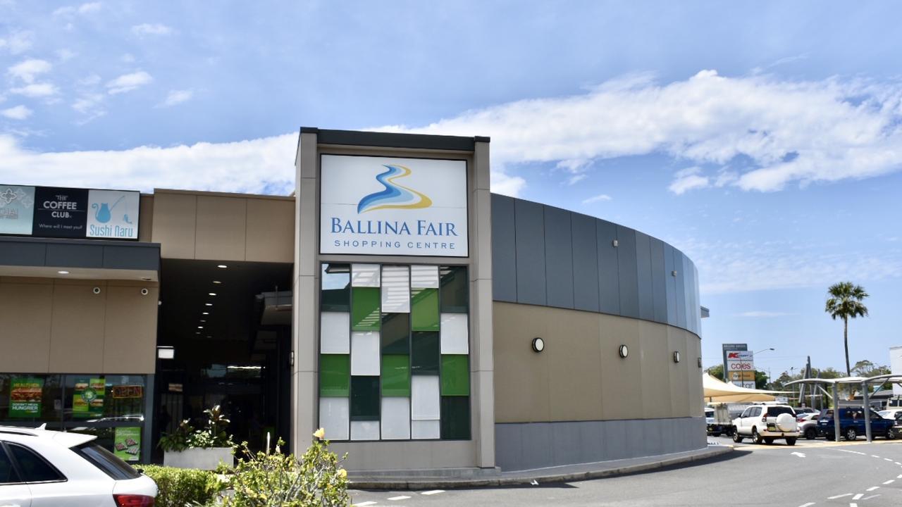 Ballina Fair Shopping Centre.