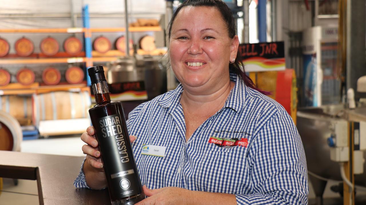 Sarina Sugar Shed distiller Sarah Parrott has produced a new Christmas-themed rum called the