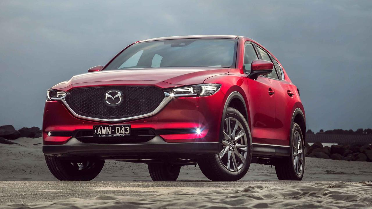 The next-generation Mazda CX-5 is due to be revealed in 2023 (current version shown)