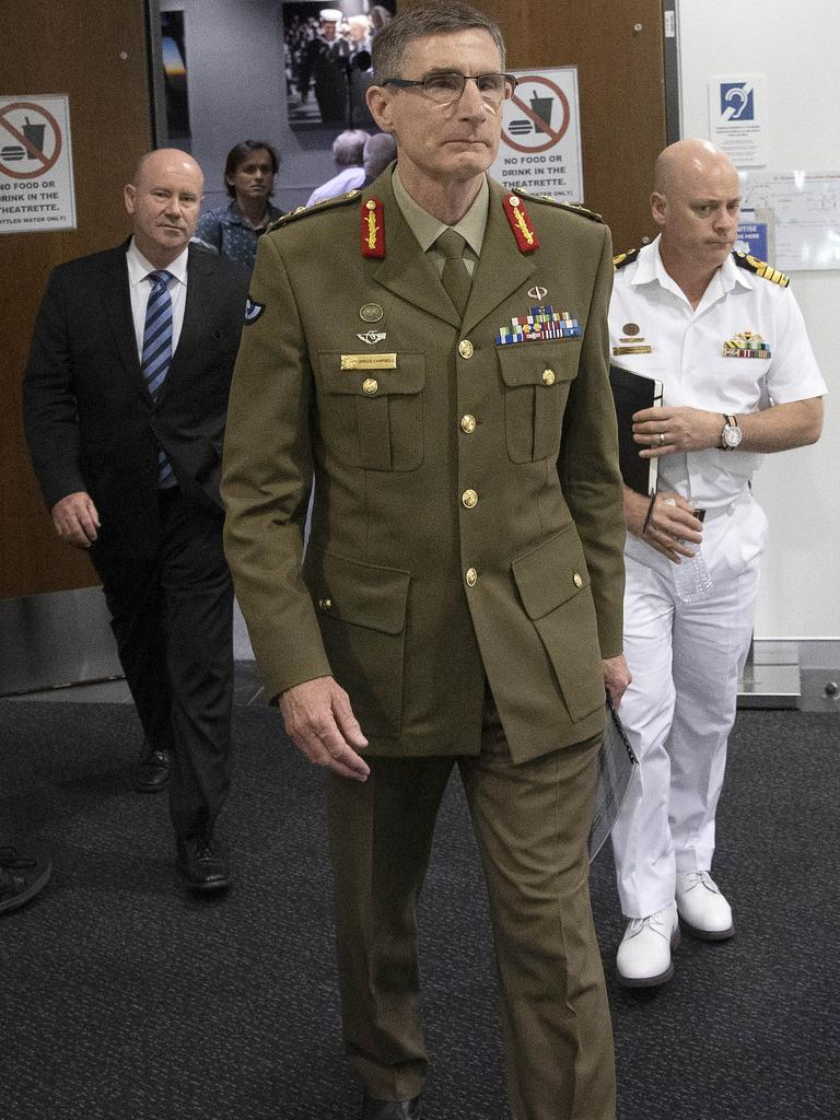 Chief of the Defence Force General Angus Campbell originally wanted to strip 3000 soldiers of their medals. Picture: NCA NewsWire /Gary Ramage