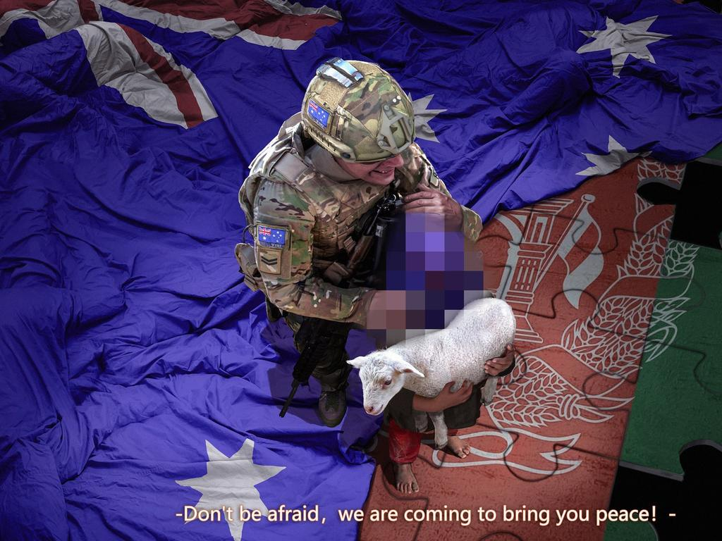 Twitter did not take down the falsified image of an Australian soldier despite calls from Australia.