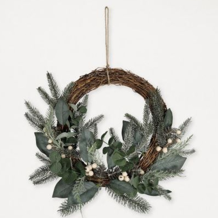 Kmart recalls Half Wicker Wreath with Berries item. Picture: Supplied