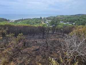 Bushfires still burning on island, but conditions easing