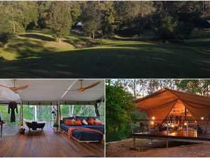 Romantic glamping venue unveiled at strawberry farm
